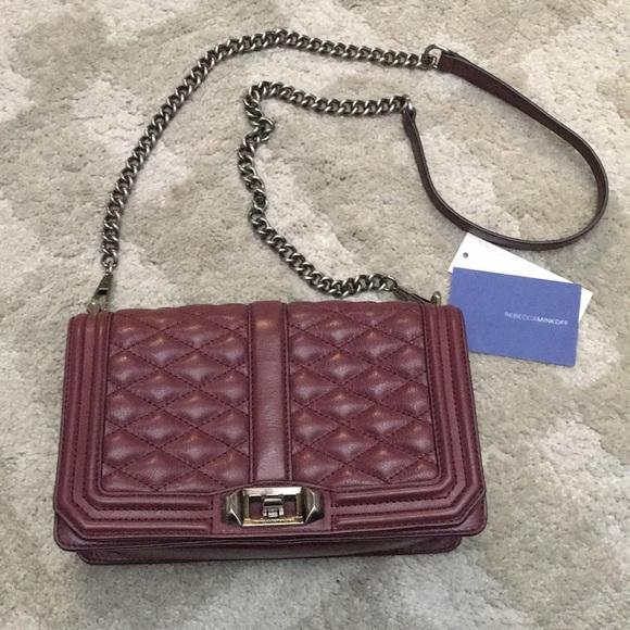 Rebecca Minkoff Handbags - Medium Love Bag in Port